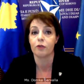 Anëtarja e kryesisë së LDK-së kritikon Gërvallën: S'është dashur të flasë për krimin dhe korrupsionin në Kosovë në KS të OKB-së