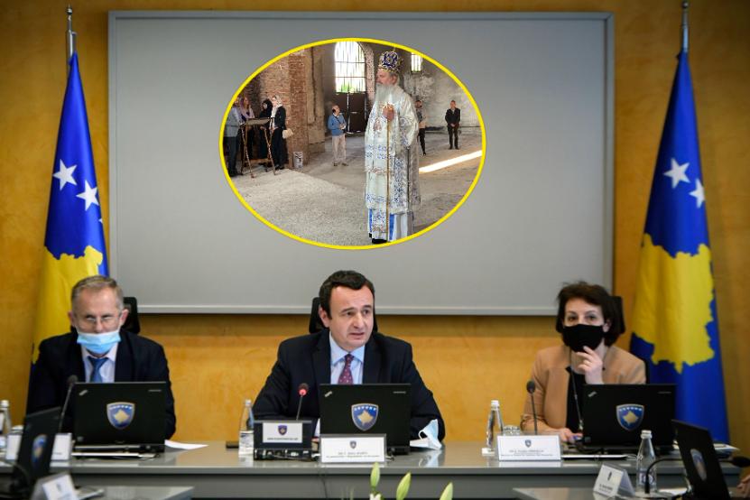 Vjen reagimi i parë nga Qeveria për liturgjinë në Kishën në oborrin e UP-së: Nuk do të tolerojmë veprime që cenojnë sigurinë publike