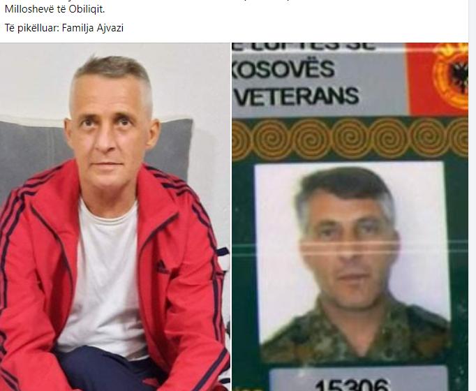 Ish-luftëtari i Ushtrisë Çlirimtare të Kosovës, Rrahim Ajvazi, ka vdekur,