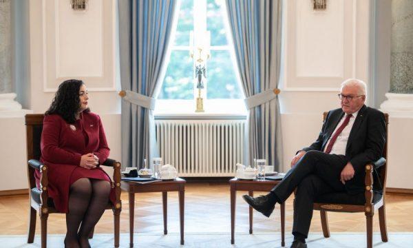 Osmani i kërkon presidentit gjerman ndihmë për njohje të reja